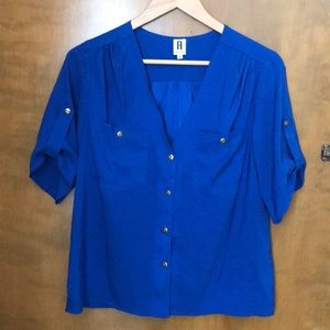 New York blue top size S